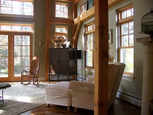 Timber Frame Greatroom